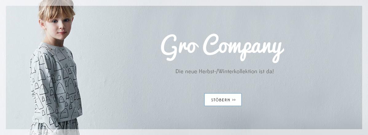 Die neue Herbst-/Winter-Kollektion von Gro Company