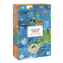 Discover Europe Puzzle