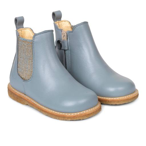 "Angulus -  Lauflerner ""Chelsea-Starter"", blue grey/blue glitter"