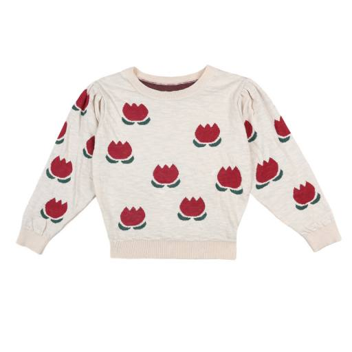 """Bobo Choses - Pullover """"Chocolate Flowers Jumper"""""""