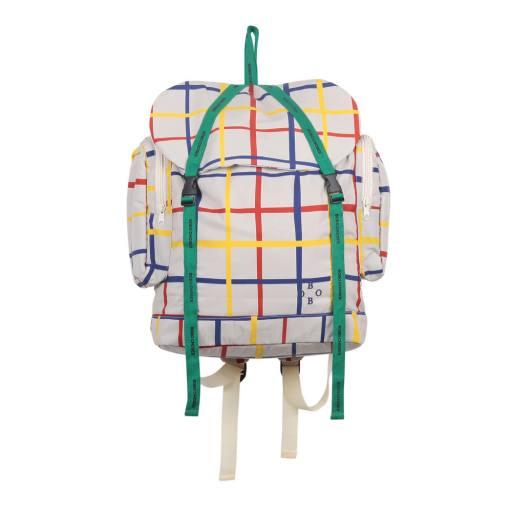 Bobo Choses - Multicolour Check Backpack
