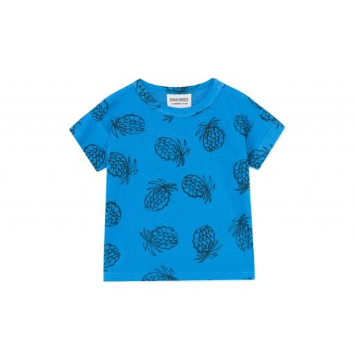 "Bobo Choses  -T-Shirt ""All Over Pineapple"","