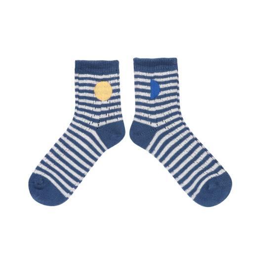 "Bobo Choses - Socken ""Blue Stripes"""