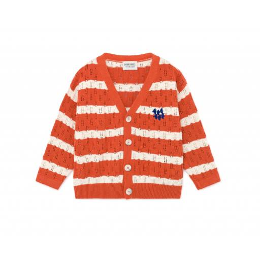 Bobo Choses - Strickjacke ''Striped Knitted Cardigan''