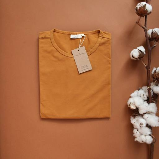 "by Kleines Karussell - Oversized-Shirt ""Mama Pyjama Shirt"", buckthorn brown"