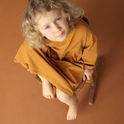 "by Kleines Karussell - Nachthemd ""Girl Night Dress"", buckthorn brown"