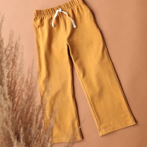 """by Kleines Karussell - Sweathose """"Girl Pants"""", buckthorn brown"""