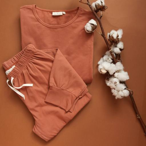 """by Kleines Karussell - Pyjama """"Mama Pyjama Set"""", amber brown"""