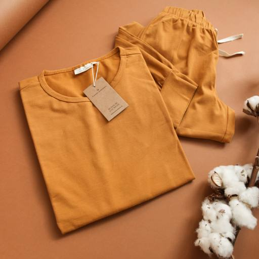 "by Kleines Karussell - Pyjama ""Mama Pyjama Set"", buckthorn brown"