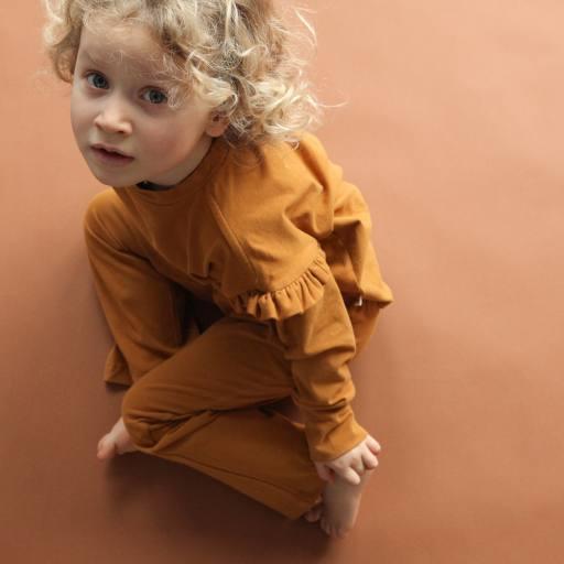 "by Kleines Karussell - Pyjamaset ""Girl Kombination"", buckthorn brown"