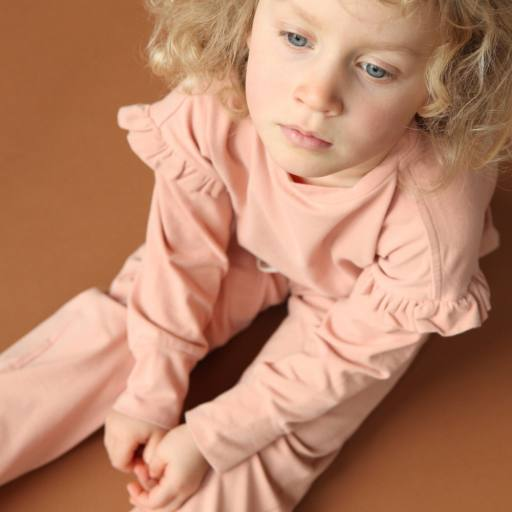 "by Kleines Karussell - Langarmshirt ""Girl Shirt"", dusty coral"