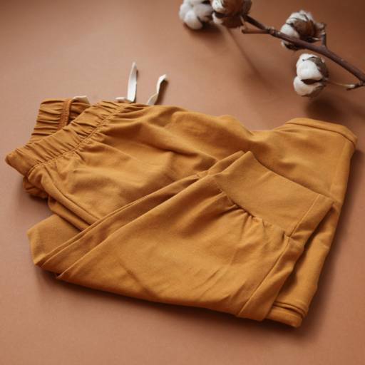 "by Kleines Karussell - Sweathose ""Mama Pyjama Pants"", buckthorn brown"