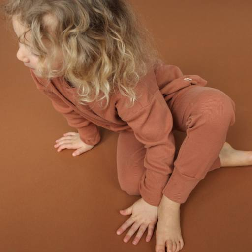 "by Kleines Karussell - Pyjamaset ""Unisex Set"", amber brown"