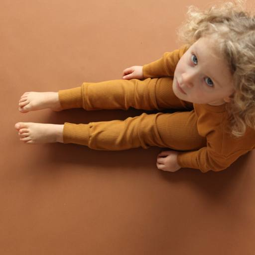 "by Kleines Karussell - Ripphose ""Unisex Trousers"", buckthorn brown"