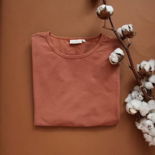 "by Kleines Karussell - Oversized-Shirt ""Mama Pyjama Shirt"", amber brown"