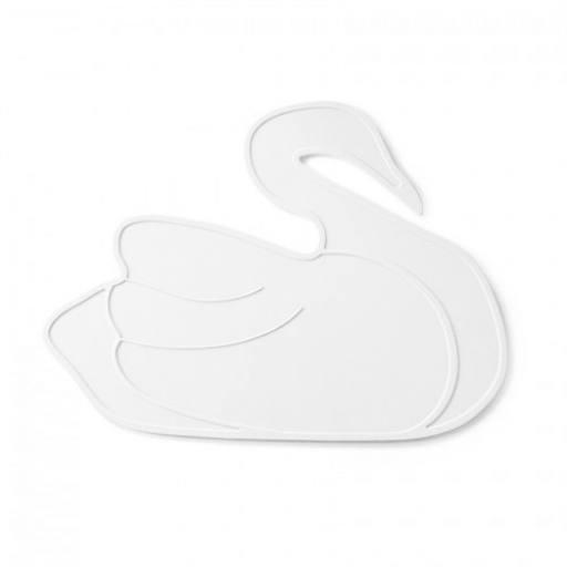 "by lille Vilde - Tischset ""White Swan"""