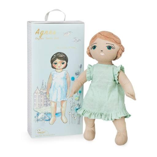 """Cam Cam Copenhagen - Stoffpuppe """"Organic Textile Doll Agnes"""""""