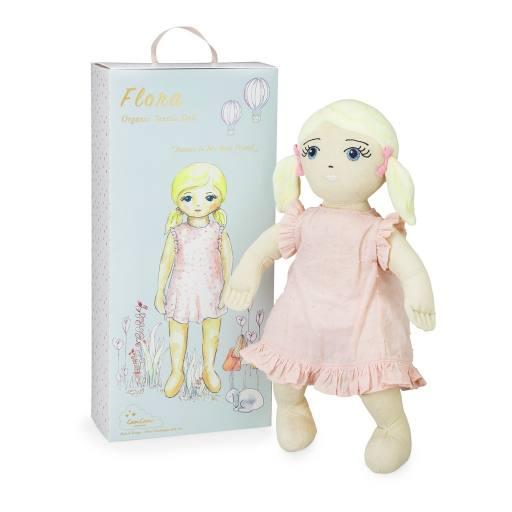 """Cam Cam Copenhagen - Stoffpuppe """"Organic Textile Doll Flora"""""""