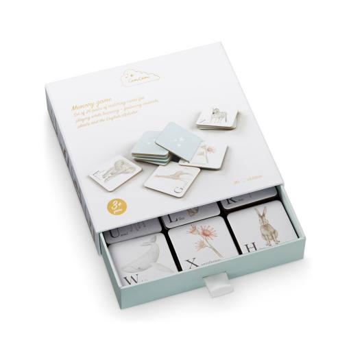 """Cam Cam Copenhagen -Memory-Spiel """"Memory Cards"""", alphabet animals"""