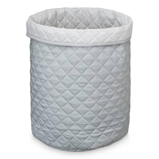 """Cam Cam Copenhagen -Aufbewahrungskorb """"Quilted Storage Basket large"""", grey"""