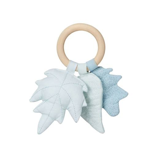 "Cam Cam Copenhagen - Rassel ""Leaves"", mix blue"