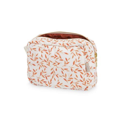 "Cam Cam Copenhagen - Kosmetiktasche ""Make-up Purse"", caramel leaves"