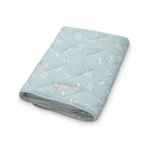 "Cam Cam Copenhagen - Babydecke ""Baby blanket"", windflower blue"