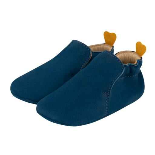 Carponi - Slipper Krabbelschuh ''Jamie'', blue ocean