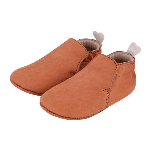 Carponi - Slipper Krabbelschuh ''Jamie'', mud