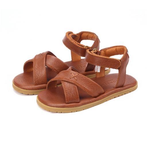 Donsje - Sandale ''Otis'', cognac leather