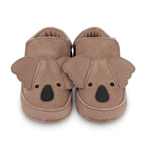 """Donsje - Babyschuhe """"Arty'', koala"""