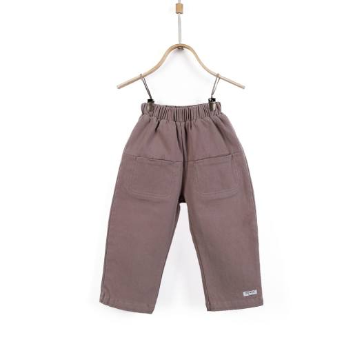 "Donsje - Hose ""Co Trousers"", dusty beige"