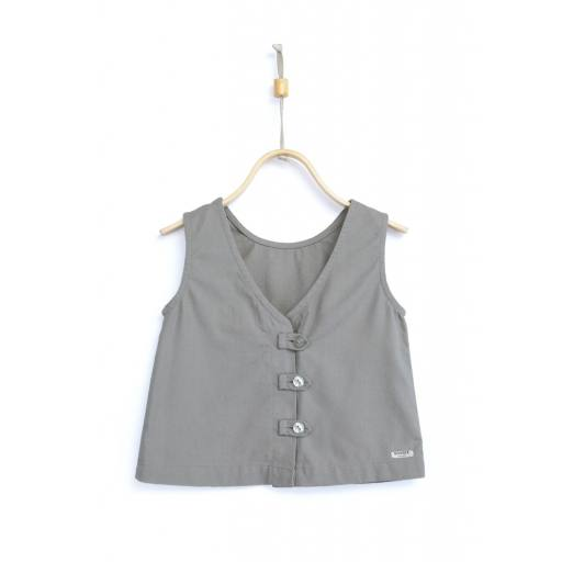 "Donsje-Top ""Jet Top"", cool grey"