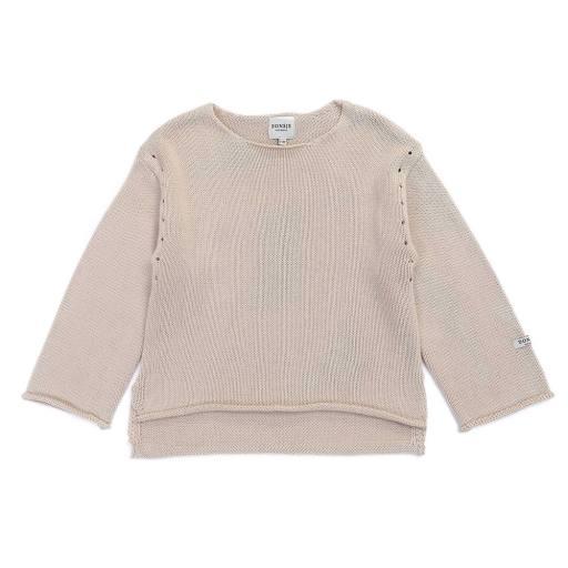 """Donsje - Sweater """"Nes'', soft sand"""