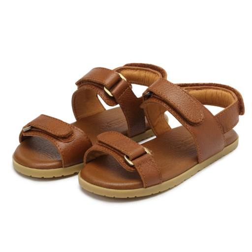 Donsje - Sandale ''Topo'', cognac leather