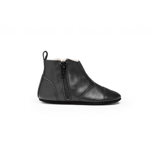 "Dusq -Lauflernschuh ""First Steps Shoe Leather"", night black"