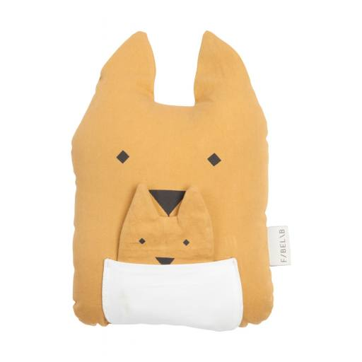 "Animal-Cushion-Kissen ""Kangaroo & Joey"""