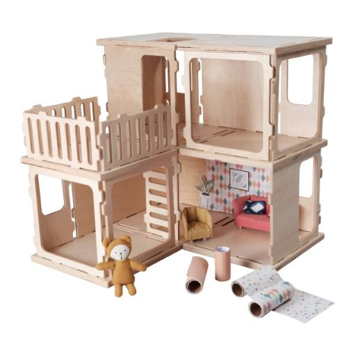 "Fabelab - Puppenhaus ""Basic kit'', 26-teilig"