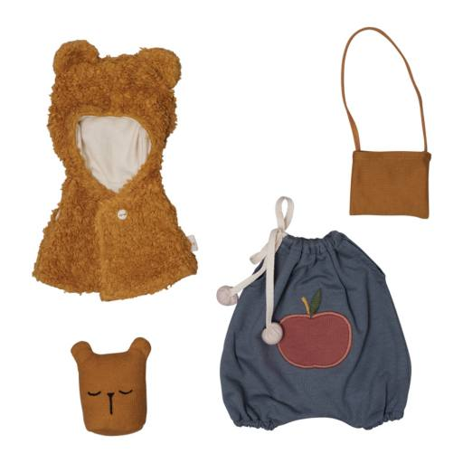 "Fabelab -Puppenkleidungs-Set ""Doll Clothes Set ""Bear Cape"", multi"