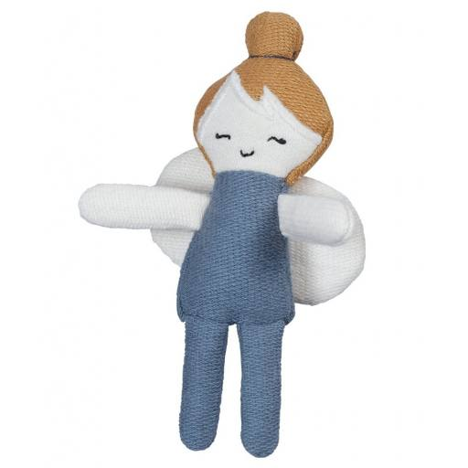 "Fabelab - Minipuppe ""Pocket friend Fairy"" blue spruce"