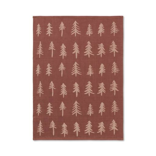 Ferm Living - Christmas Tea Towel - Cinnamon