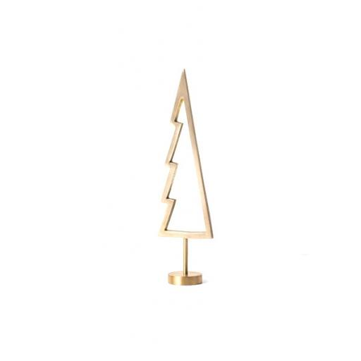 Ferm Living - Winterland Messing-Baum Outline