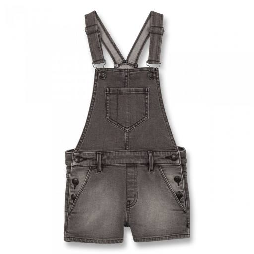 "Finger in the Nose - Girl Denim Short Overall ""Yumi"""