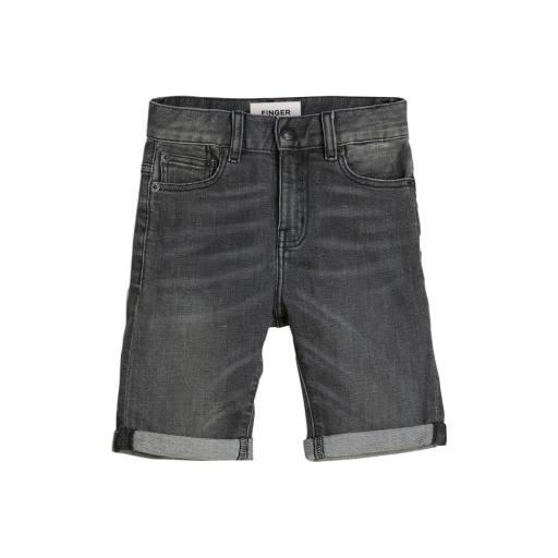 Finger in the Nose - Comfort Fit Shorts ''Edmond'', grey denim