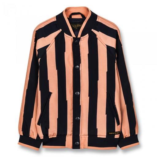 "Unisex Woven Varsity Jacket ""Pretender"""