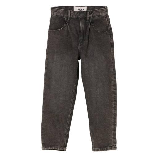 Finger in the Nose - Jeans ''Solange'', black snow