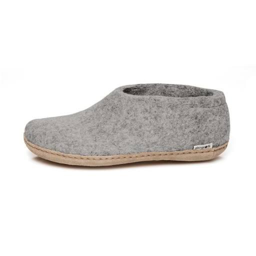 "Glerups -Erwachsenen-Hausschuhe ""Shoe"", grey"