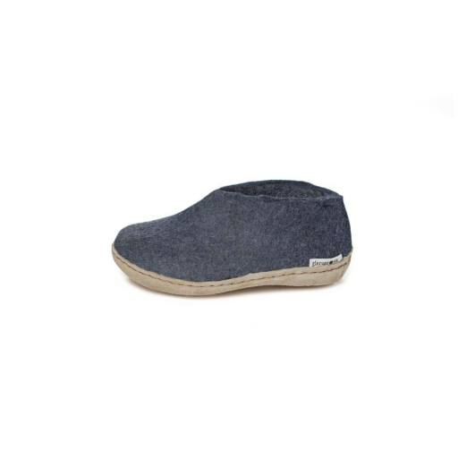 "Glerups -Kinder-Hausschuhe ""Shoe Junior"", denim"