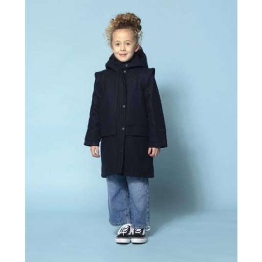 "Gosoaky - Wollparka ""Happy Cow"", mood indigo"