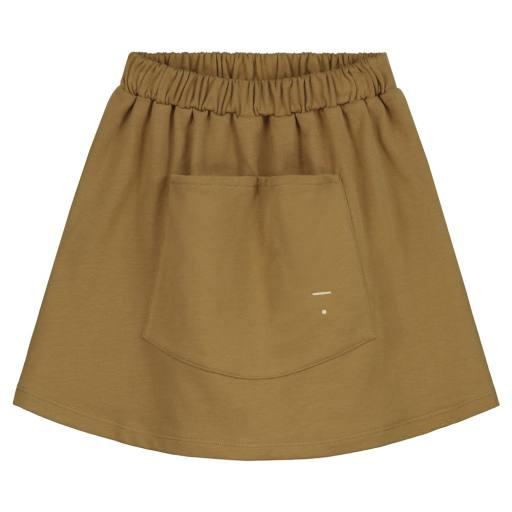 "Gray Label -Rock ""Front Pocket Skirt"", peanut"